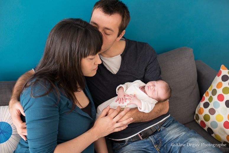Photographe famille à domicile, région parisienne, photographe à domicile naissance