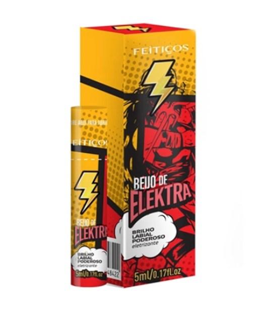 Brilho Labial poderoso eletrizante - Beijo de Elektra