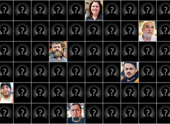 100 de portrete ale oamenilor din Värnamo