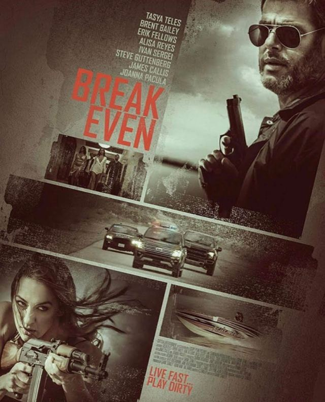 Break Even movie, CJ Walley