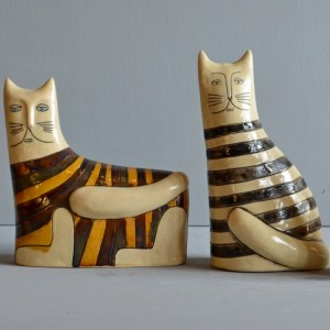 sculpture - cats