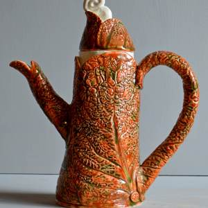 tableware - Teapot-red