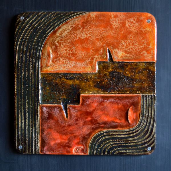 on-board - Beginnings-triptych-ceramic-panels-on-board-90x90-6