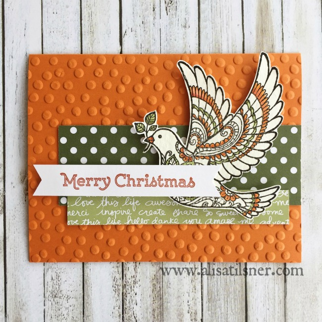 Dove of Peace Stampin Up
