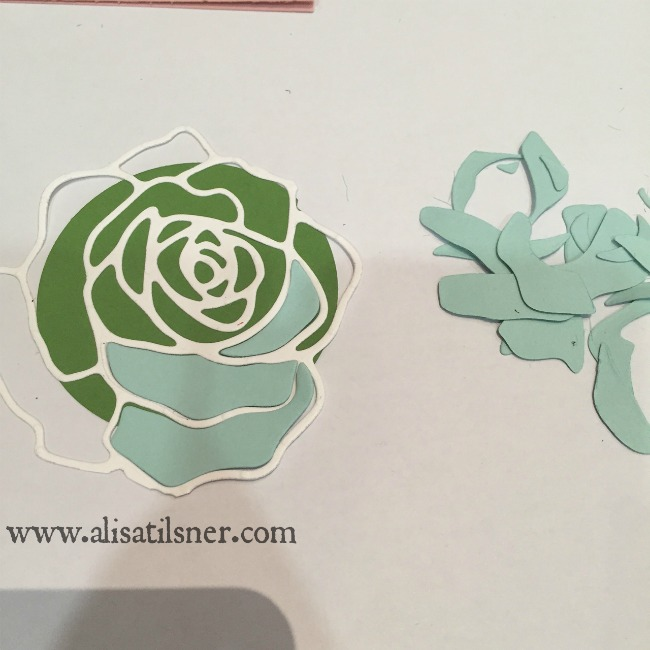 Stampin Up Rose Garden Tutorial