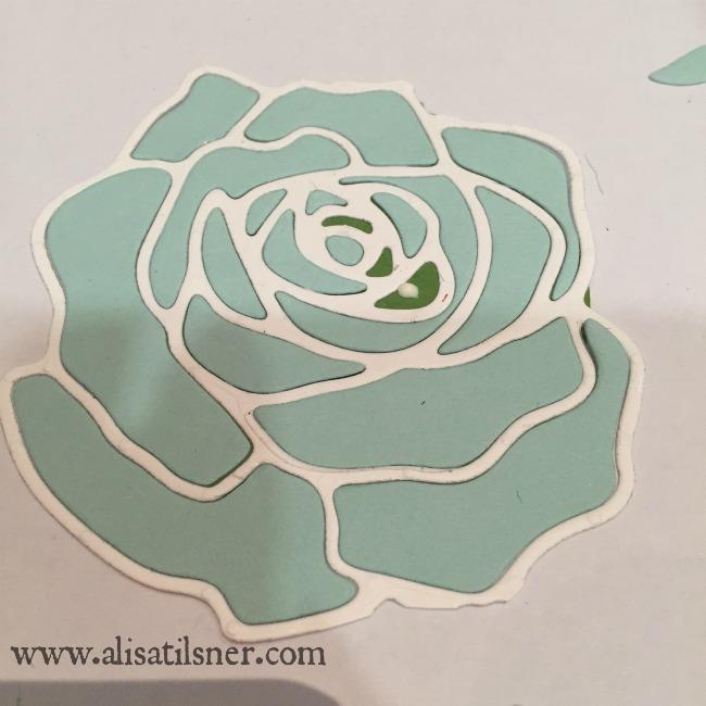 stampin up rose garden tutorial