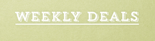 Stampin Up Weekly Deals