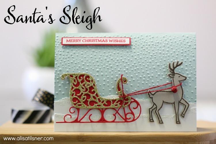Stampin' Up! Santa's Sleigh