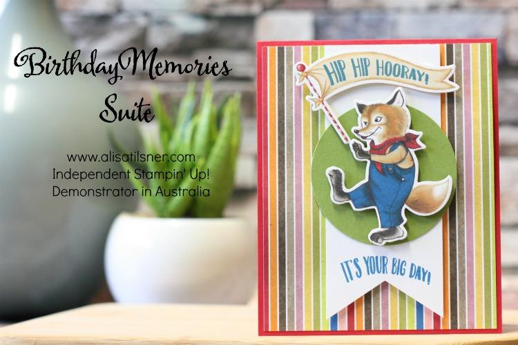 Stampin' Up! Birthday Memories Suite