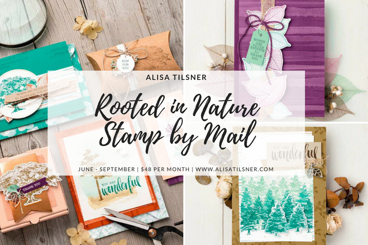 Rooted in Nature Stamp by mail