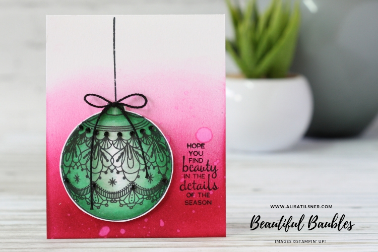 Stampin' Up! Beautiful Baubles