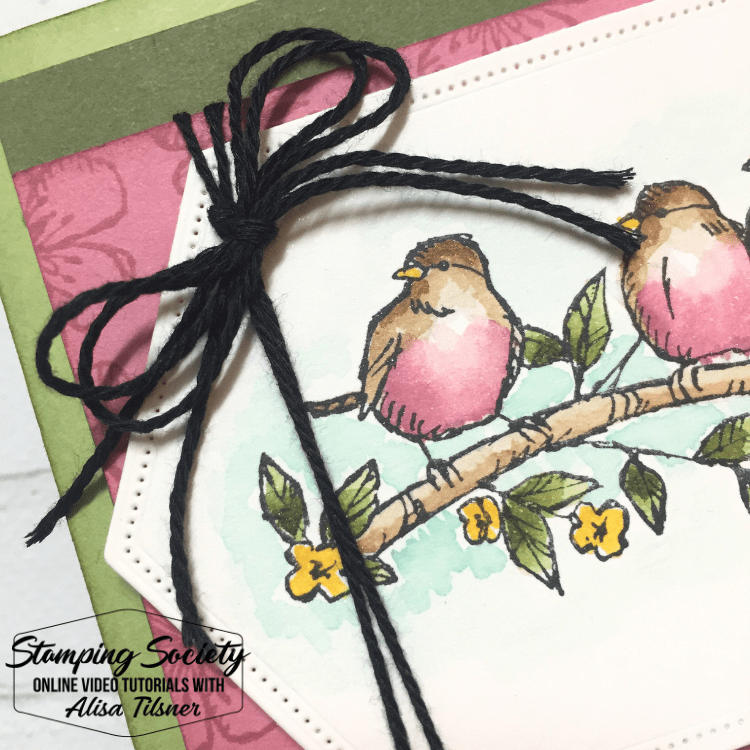Free as a Bird Stamp Set.