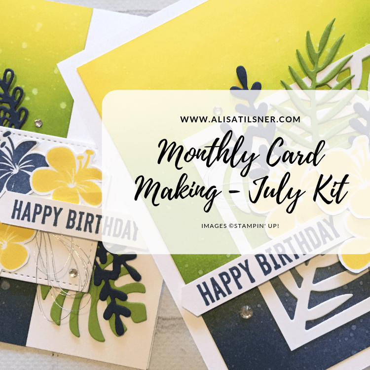 Monthly Card Kit Club