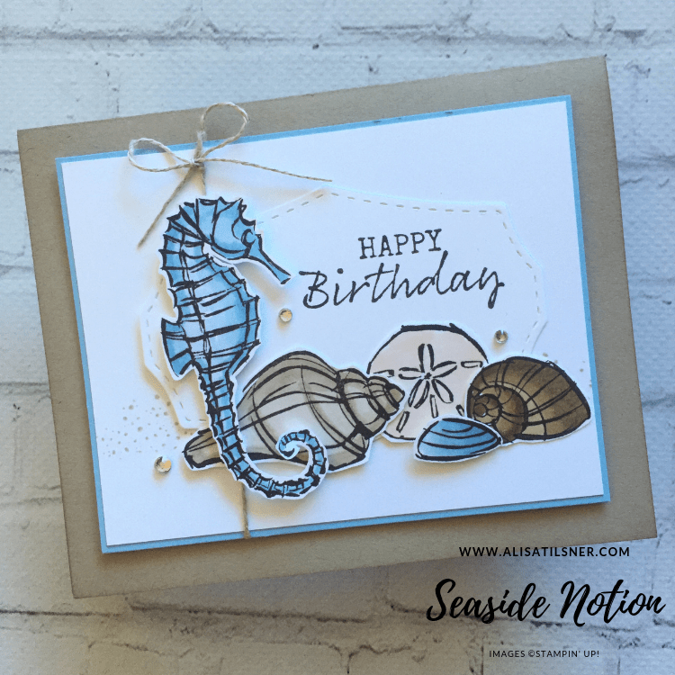 Stampin' Up! Seaside Notion