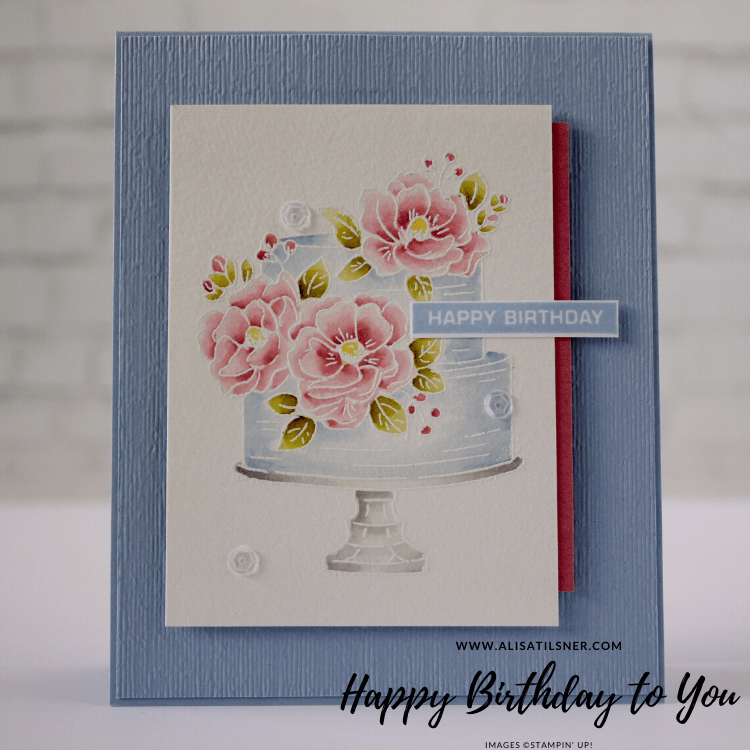 Stampin' Creative Blog Hop using Happy Birthday to You Stamp Set