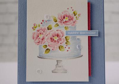 Stampin' Creative Blog Hop using Happy Birthday to You Stamp Set
