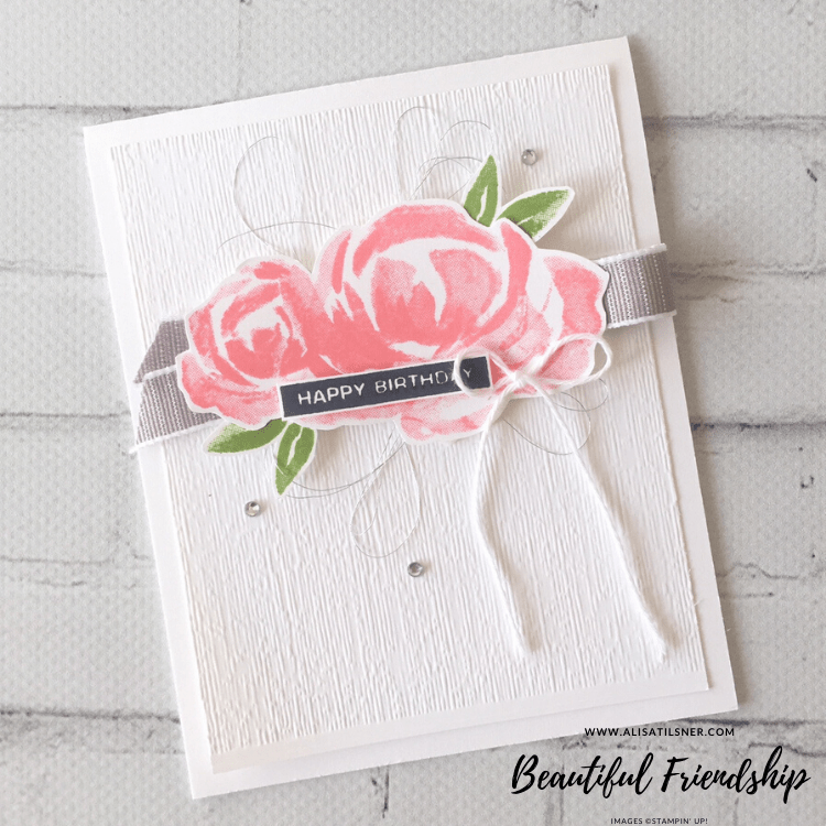 Beautiful Friendship Birthday Cards by Alisa Tilsner