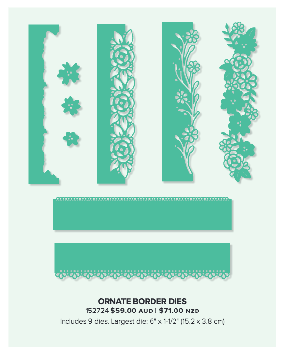 Ornate Garden Suite by Stampin' Up! Available from Alisa Tilsner, Independent Stampin' Up! Demonstrator
