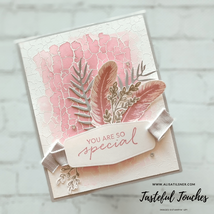 Tasteful Touches Sneak Peek - Card made by Alisa Tilsner.