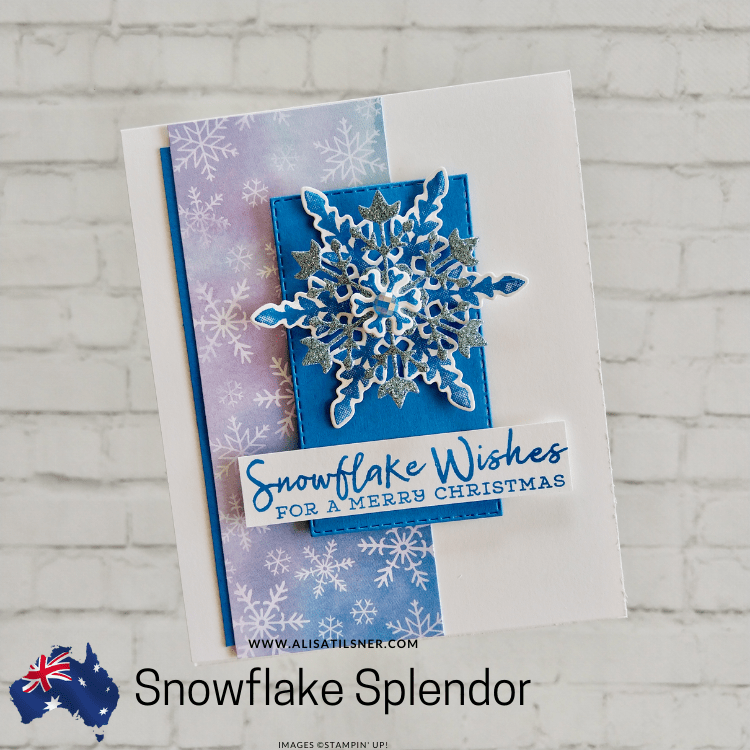 Snowflake Splendor Christmas Card