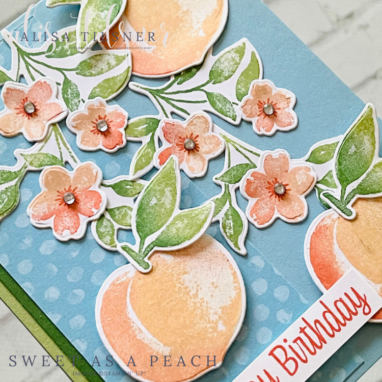 Stampin' Up! Sweet as a Peach