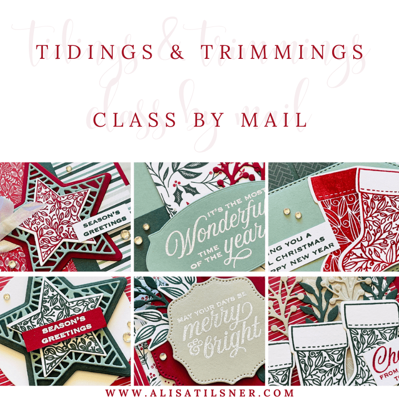 Tidings & Trimmings Class by Mail Re Opened