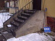 Die Treppe wie sie mal aussah