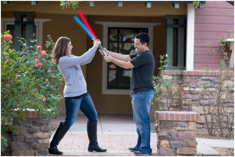 My The Force Be With You – A Star Wars themed family session