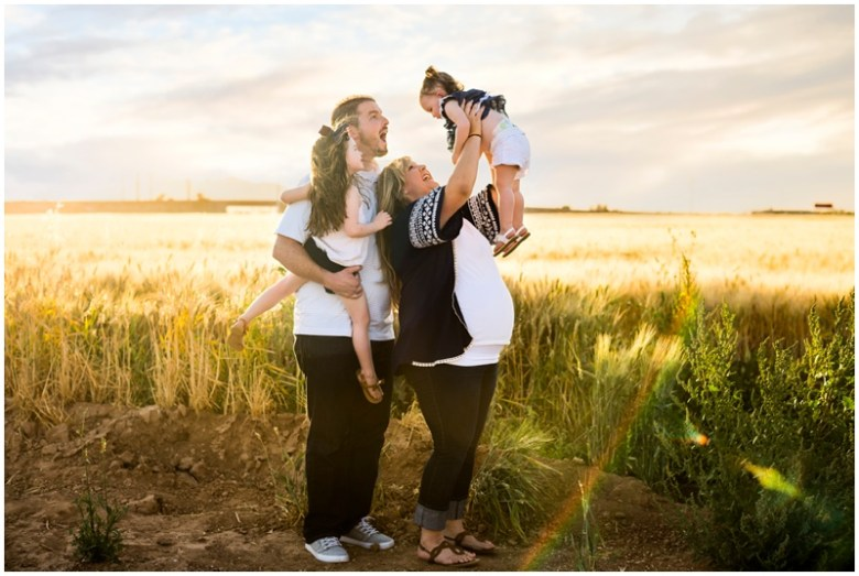 Mays Family Portraits- Surprise Arizona Hayfields