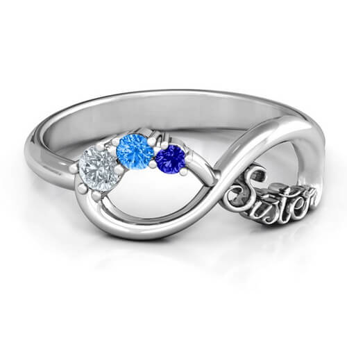 Sisters Infinity Ring