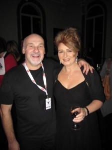 Paul Carrack and Alison Burns