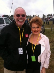 Bob Harris and Alison Burns