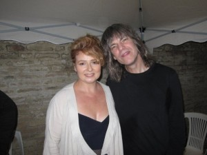 Alison Burns and Mike Stern