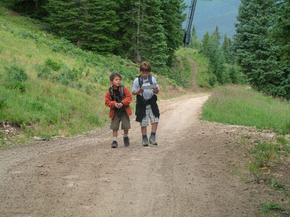 Climbing Mt Crested Butte, Colorado, Family Vacation, Summer Vacations, Mountain Climbing, Hiking with kids