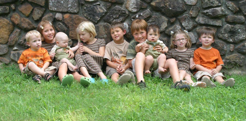 Nine Cousins, Whitney Loibner Photography