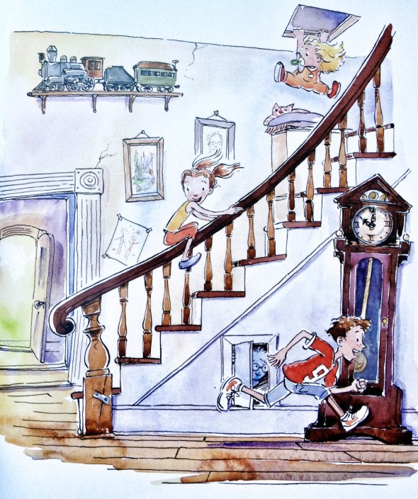 Creaky Old House, Linda Ashman, Michael Chesworth, Great Children's Books
