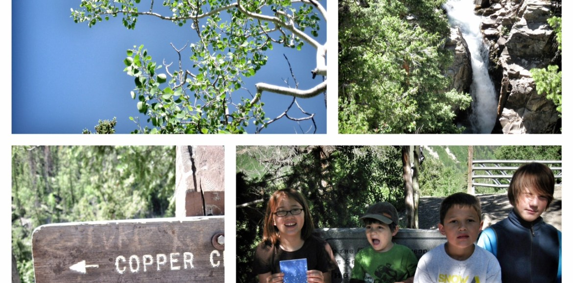 judd falls hike, crested butte, colorado, hiking with kids