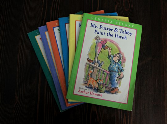 Mr Putter and Tabby, favorite children's books, early readers, fun with kids