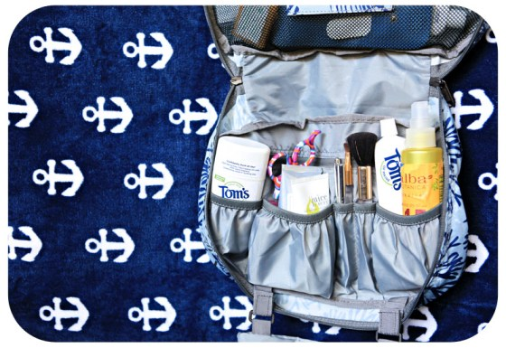 what to pack for a mediterranean cruise, what to wear on a cruise, packing list, eagle creek gear, eagle creek toiletry bag