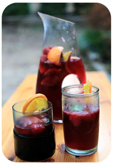 fun drinks, party beverage, fruity drinks, citrus sangria