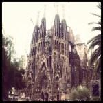 Snapshots of Barcelona, Park Guell + La Sagrada Familia