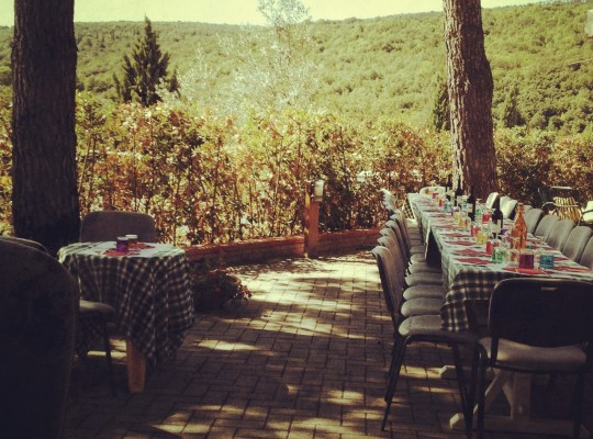 italy, travel, tuscany, farm table, the good life