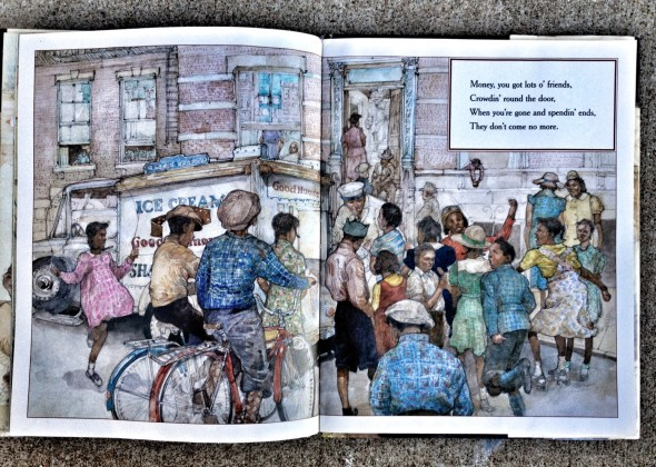 Great Migration Books, Books about the great migration, The Great Migration, God Bless the Child, Jacob Lawrence, Jerry Pinkney, Billie Holliday, The Warmth of Other Suns, children's books