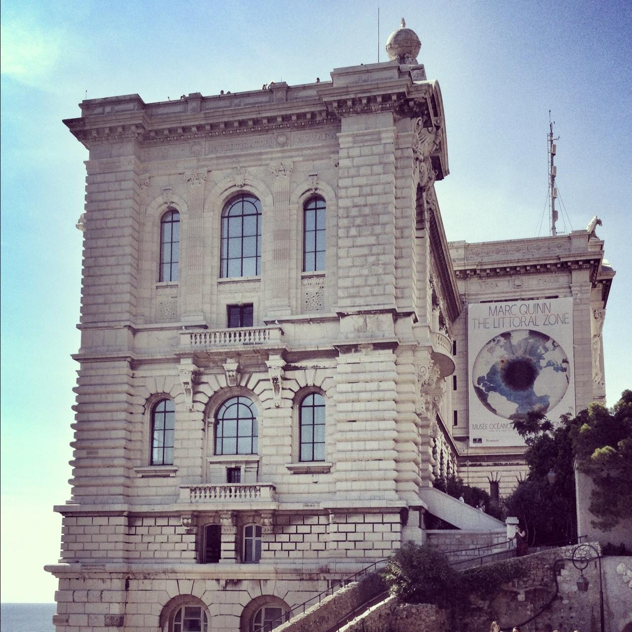 Musee Oceanographique, Musée Océanographique, Monaco, Monaco-Ville, Mediterranean Cruise, European travel, What to do in Monaco, view from Musee Oceanographique