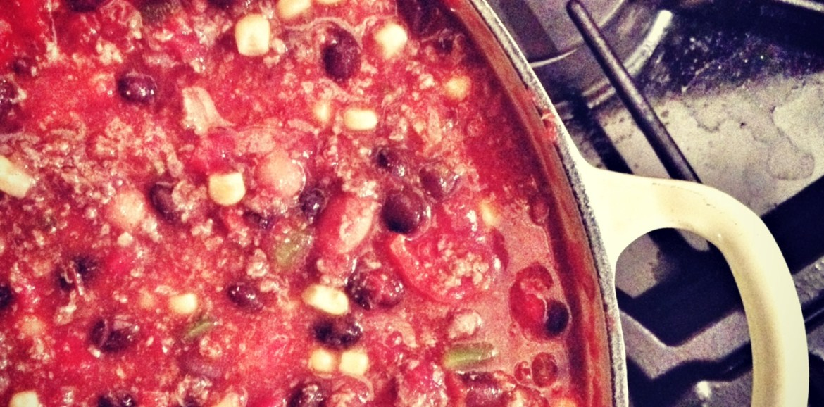 chili, chili recipe, chili with beans and corn
