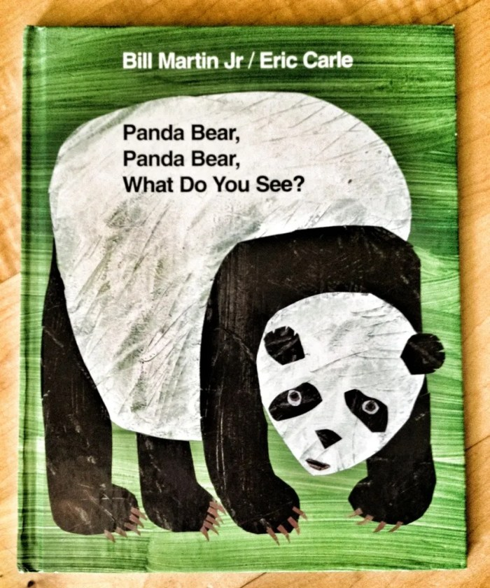 Panda Bear Panda Bear What Do You See?, picture books, children's books