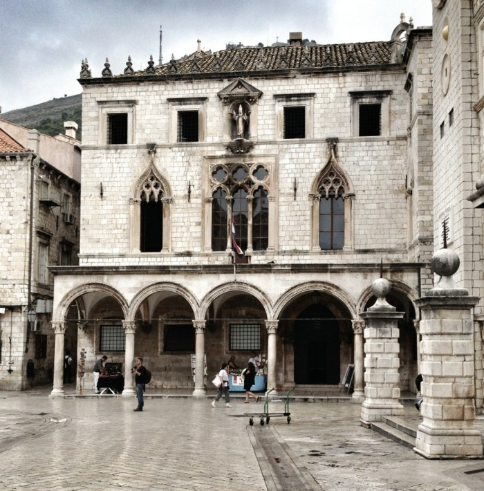 Sponza, Palace, Mediterranean Cruise Ports, Dubrovnik, Croatia, Old City, European Travel, Mediterranean Cruise