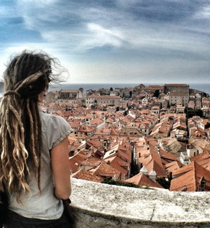 Mediterranean Cruise, Old City , Dubrovnik, Croatia, Mediterranean Ports, European Cruise, dreadlocks, traveling europe