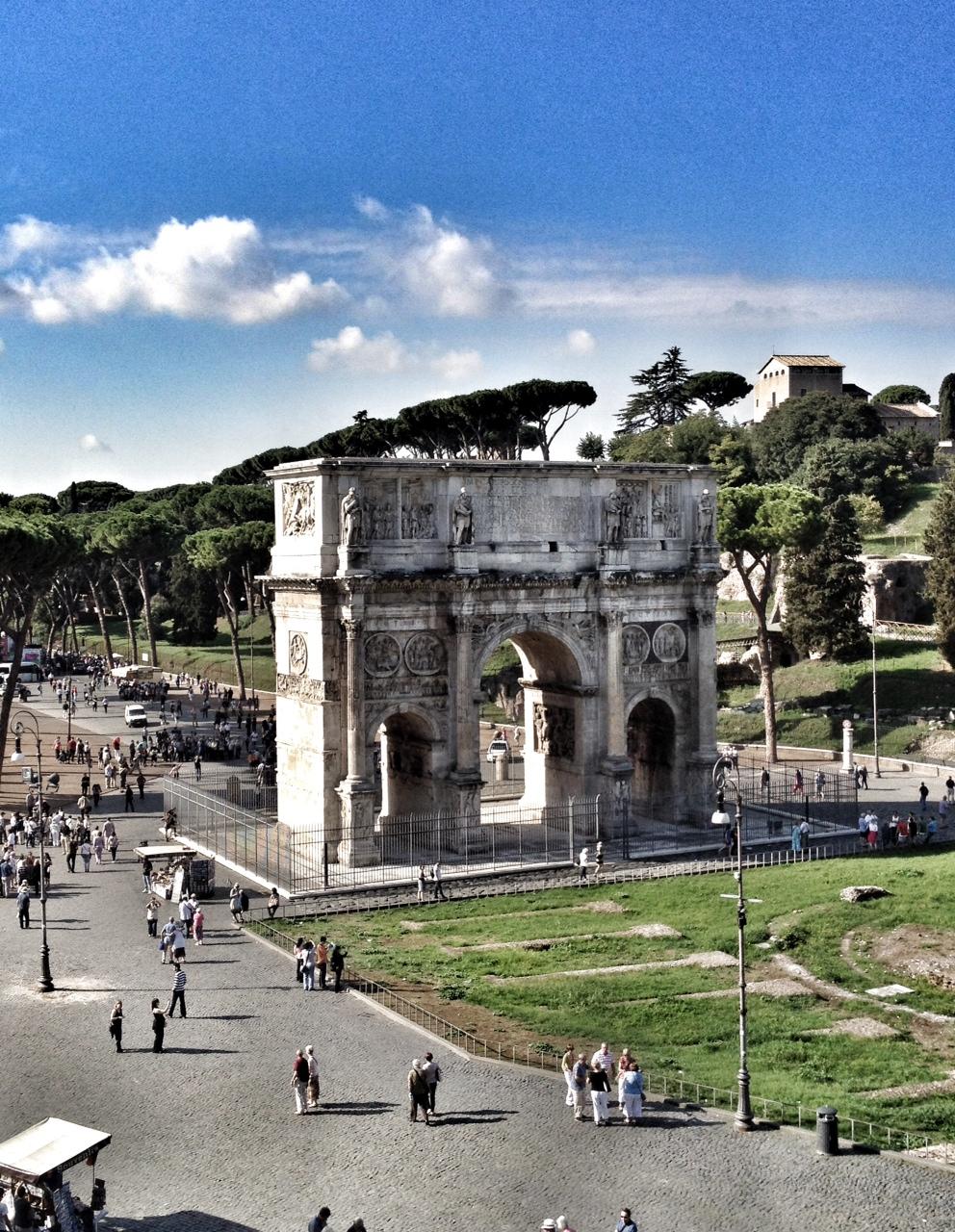 Rome, Italy, European travel, wanderlust, Arch of Constantine, Mediterranean Cruise Port