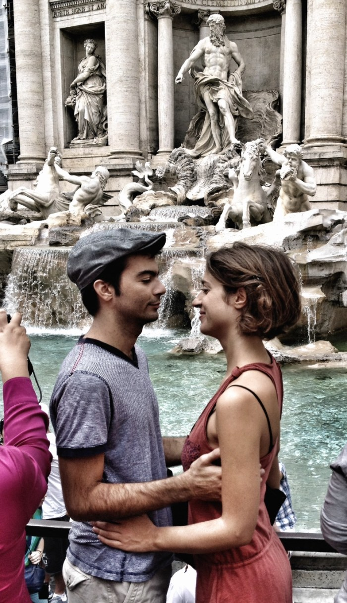 Rome, Italy, Travel, Mediterranean Cruise Ports, Wanderlust, Trevi Fountain